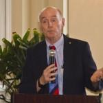 Moderator Tom Boyhan, WJTW